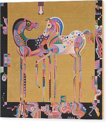 Enchanted Wood Print by Bob Coonts