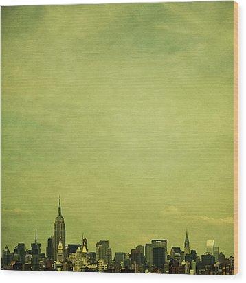 Escaping Urbania Wood Print by Andrew Paranavitana