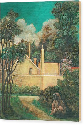 Experimental Station Wood Print by Ethel Vrana