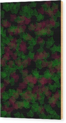 Fall Leaves Wood Print by Evelyn Patrick