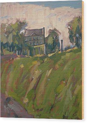 Farm Estate Zonneberg Wood Print by Nop Briex