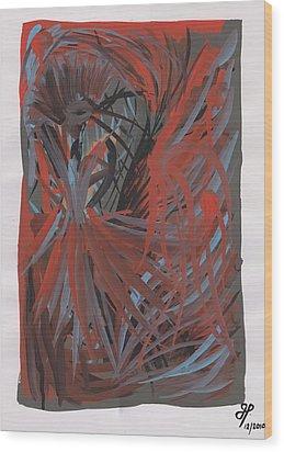 Fashionably Late Wood Print by Joubert Potgieter