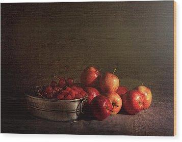 Feast Of Fruits Wood Print by Tom Mc Nemar