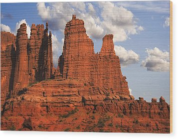 Fisher Towers Wood Print by Utah Images