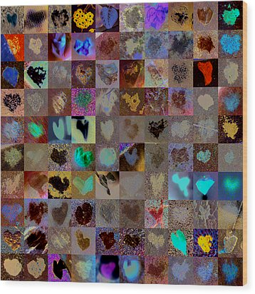 Five Hundred Series Wood Print by Boy Sees Hearts