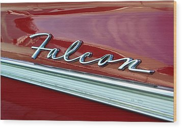 Ford Falcon Wood Print by David Lee Thompson
