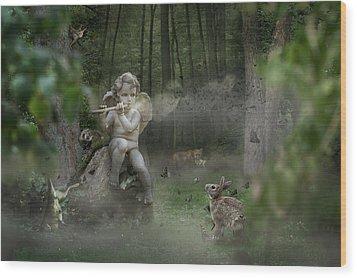 Fortbidden Path Wood Print by Marc Huebner