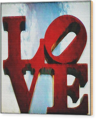 Fountain Of Love  Wood Print by Bill Cannon