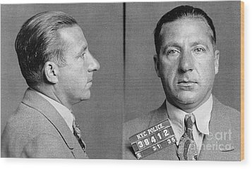 Frank Costello (1891-1973) Wood Print by Granger