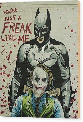 Freak Like Me Wood Print by James Holko