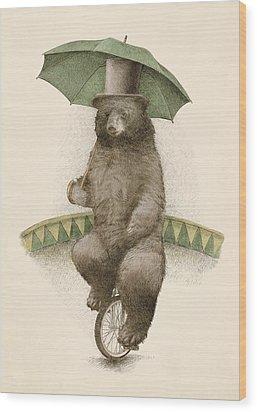 Frederick Wood Print by Eric Fan