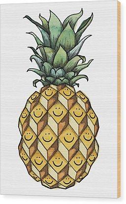 Fruitful Wood Print by Kelly Jade King