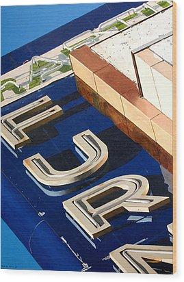 Furn Wood Print by Rob De Vries