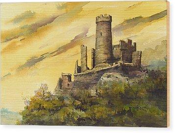 Furstenburg On The Rhine Wood Print by Sam Sidders