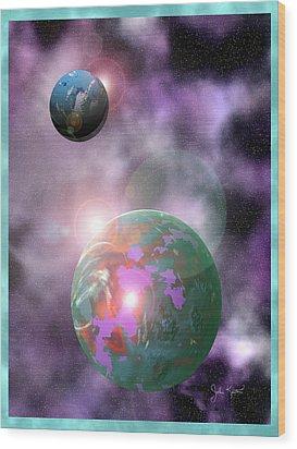 Galaxy 1 Wood Print by John Keaton