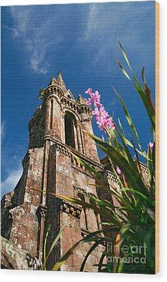 Gothic Chapel Wood Print by Gaspar Avila