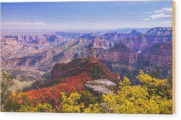 Grand Arizona Wood Print by Chad Dutson