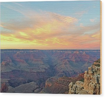 Grand Canyon No. 5 Wood Print by Sandy Taylor