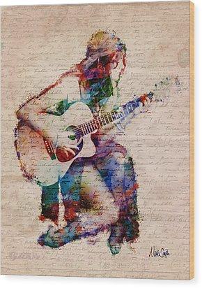 Gypsy Serenade Wood Print by Nikki Smith