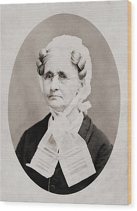 Hannah Simpson Grant 1798-1883, Mother Wood Print by Everett