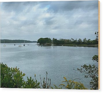 Harpswell, Maine No. 1 Wood Print by Sandy Taylor