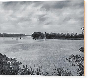 Harpswell, Maine No. 1-1 Wood Print by Sandy Taylor