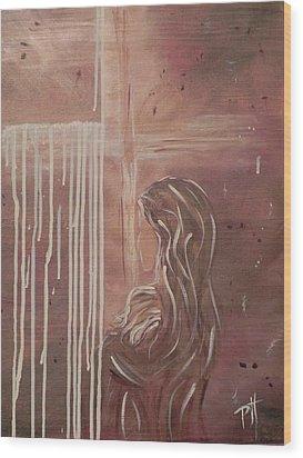 Held Wood Print by Patti Spires Hamilton
