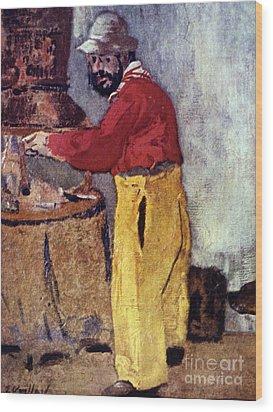 Henri De Toulouse-lautrec Wood Print by Granger