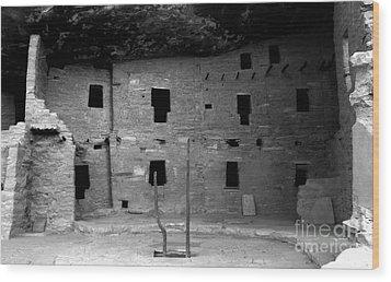 House Of Windows Wood Print by David Lee Thompson