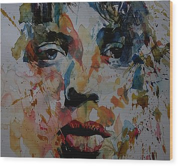 I Know It's Only Rock N Roll But I Like It Wood Print by Paul Lovering