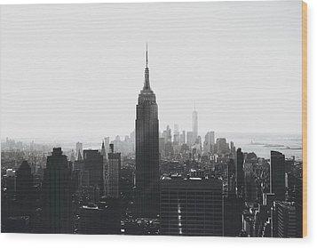I'll Take Manhattan  Wood Print by J Montrice