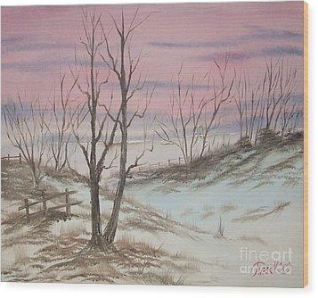 Impressions In Oil - 17 Wood Print by Bill Turck