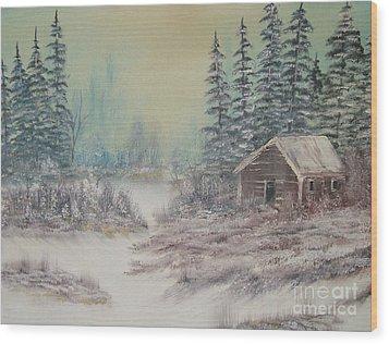 Impressions In Oil - 7 Wood Print by Bill Turck