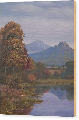 Indian Summer Revisited Wood Print by Sean Conlon