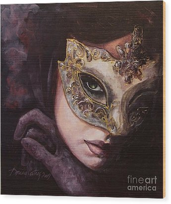 Ingredient Of Mystery  Wood Print by Dorina  Costras
