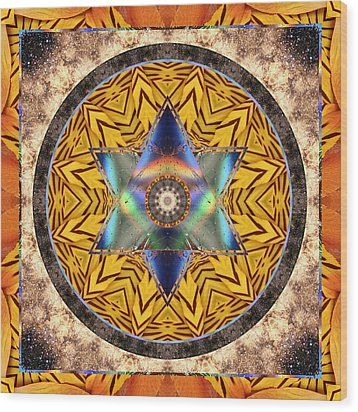 Interspectra Wood Print by Bell And Todd