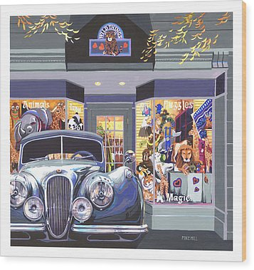 Jaguar The Wild Thing Wood Print by Mike Hill
