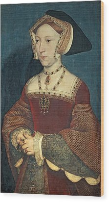 Jane Seymour Wood Print by Holbein