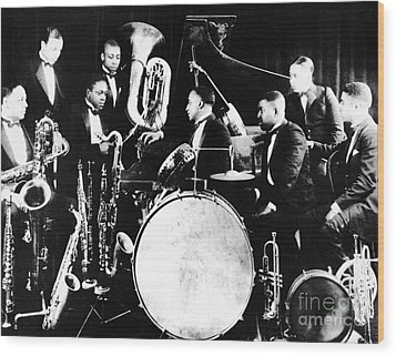 Jazz Musicians, C1925 Wood Print by Granger