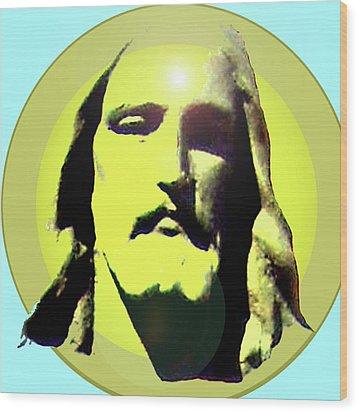 Jesus Christ No. 03 Wood Print by Ramon Labusch