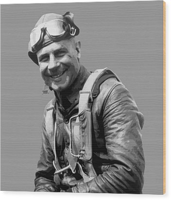 Jimmy Doolittle Wood Print by War Is Hell Store