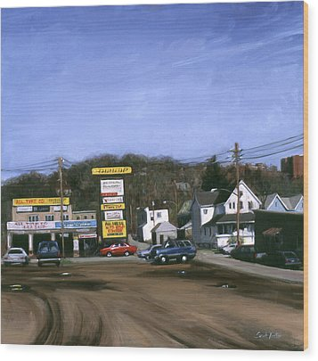Jimmy's Alltire Wood Print by Sarah Yuster