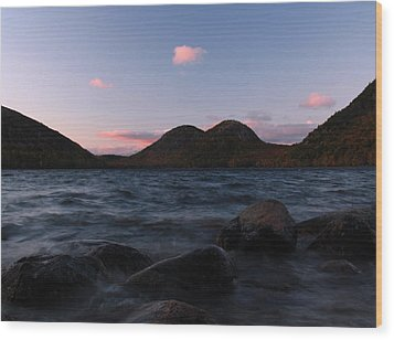 Jordan Pond Wood Print by Juergen Roth