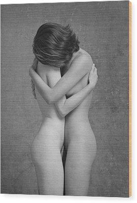 Justine And Savanah 9515.03 Wood Print by Craig Morey