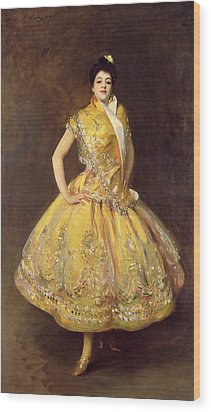 La Carmencita Wood Print by John Singer Sargent