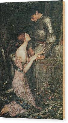 Lamia Wood Print by John William Waterhouse