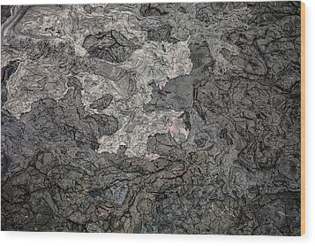 Wood Print featuring the photograph Lava Flow by M G Whittingham