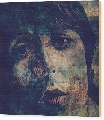Let It Roll / 2 Wood Print by Paul Lovering