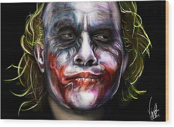 Let's Put A Smile On That Face Wood Print by Vinny John Usuriello