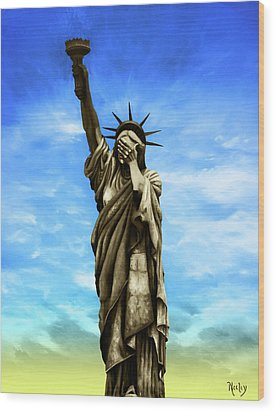 Liberty 2016 Wood Print by Kd Neeley